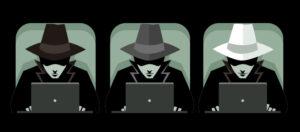 ハッキングの3つのタイプ